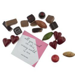 chocolade voor valentijn